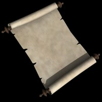 paper scroll 3ds