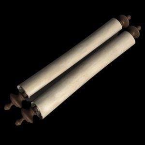 maya paper scroll