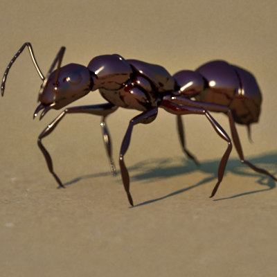 3d ant animation