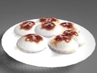 3dsmax oriental cake
