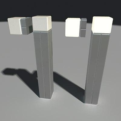 maya cube lamps designer jacob