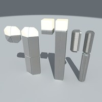 saphire matrix cube lamps max