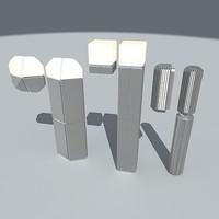 Saphire, Matrix and Cube - by Jacob Jensen Design / Nordlux