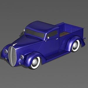 3d max choptop classic truck