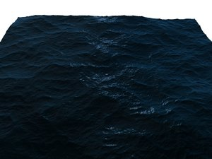 ocean sea waves 3d model