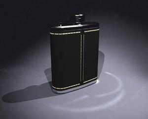 3dsmax flask caustics