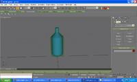 free bottle water 3d model