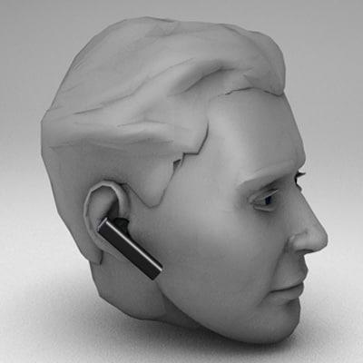 apple head 3d model