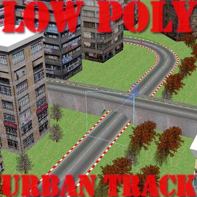 fbx urban race track rt