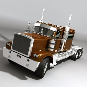 3ds semi trailer american