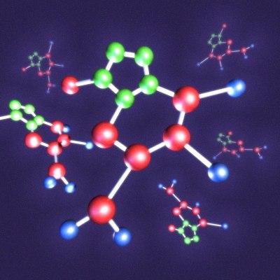 3ds max molecules