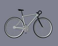 titan bike 3d model