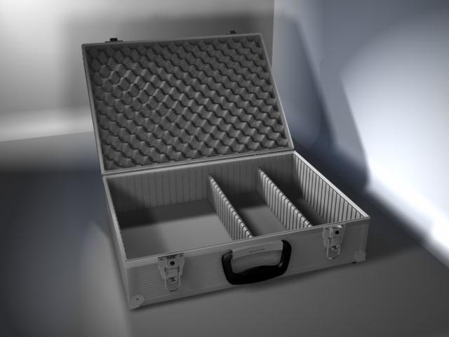 3ds aluminum tool case