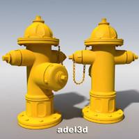 hydrant 3d c4d