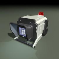3d model sony monitor