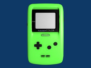 3ds gameboy green