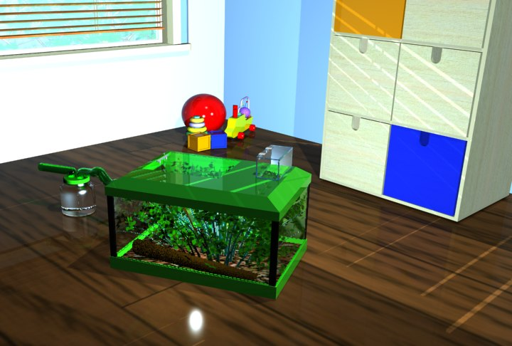 insect tank 3d max