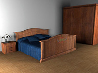 max bed room modeled