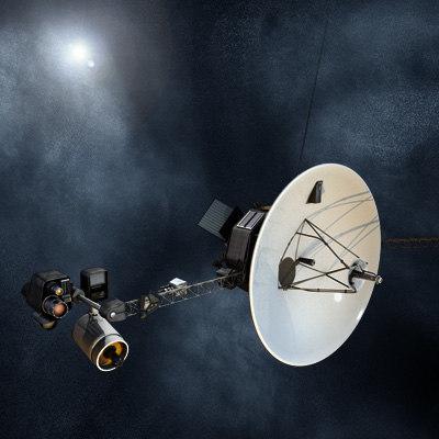 voyager satellite 3d model