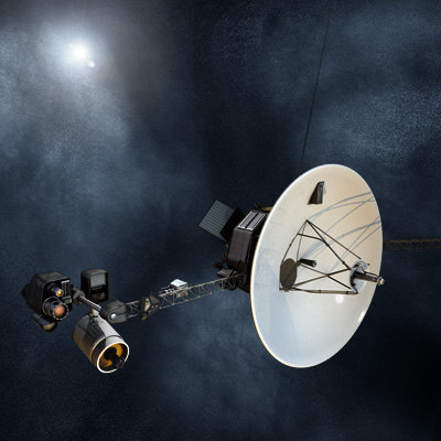 voyager satellite 3d model