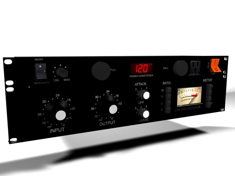 3ds max rackmount power conditioner compressor