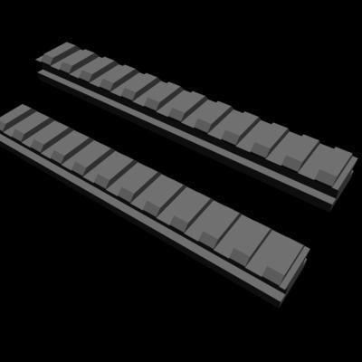 free max model picatinny rail