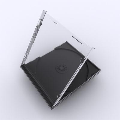 3d model jewel case