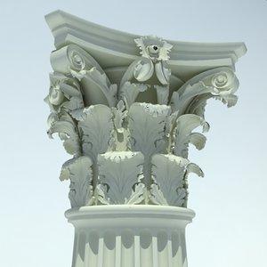 max classical column corinthian