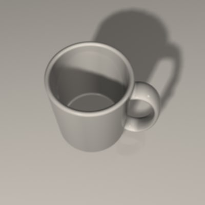 3dsmax cup