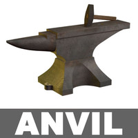 hammer anvil 3d model