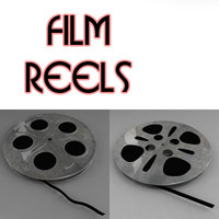 3ds max film reel