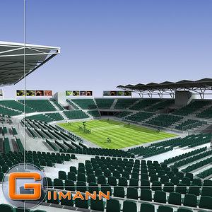 lawn tennis court arena 3ds