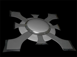 shield blades slice 3d 3ds