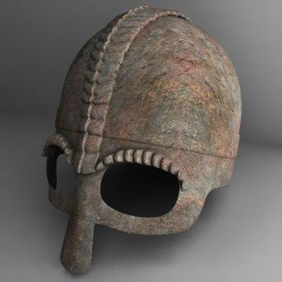 helm helmet 3d 3ds