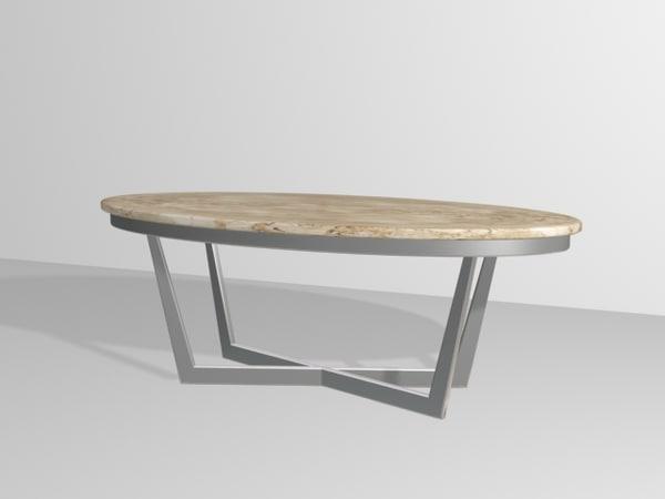vito table 3d model