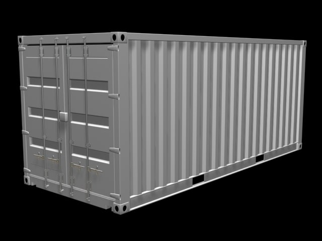 3ds max container 20