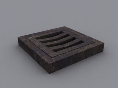 drain 3d max