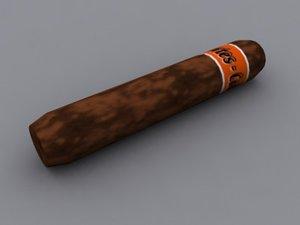 3d cigar model