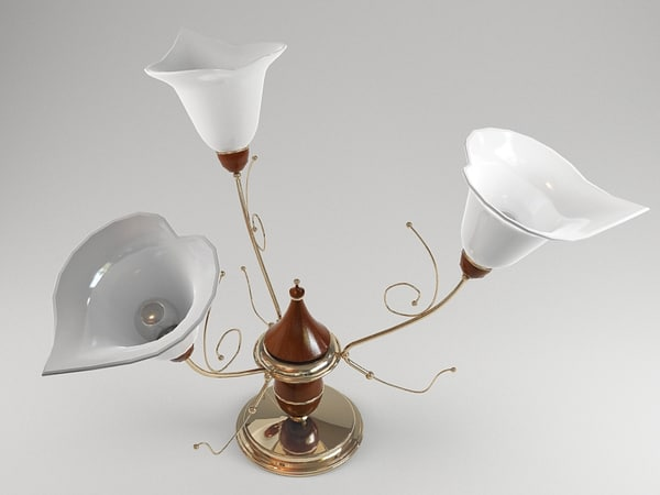 chandelier modelled max