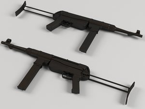 3d mp 40 model