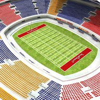 football stadium 3d 3ds