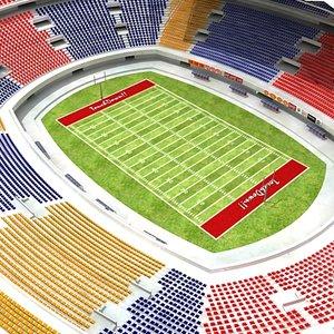 football stadium 3d 3ds