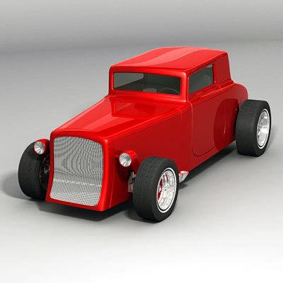 3ds max vehicle car antique