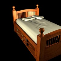 woodenbed.max