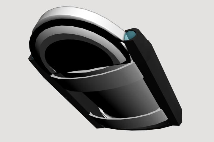 3d model future sport hover gogo