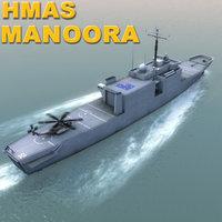 HMAS-Manoora_3DModel