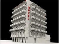 Hotel City Street Building