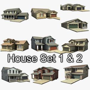house set 10 s