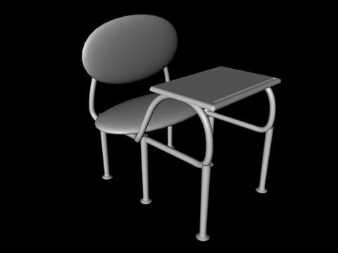 c4d school desk