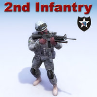 3d usarmy warrior soldiers